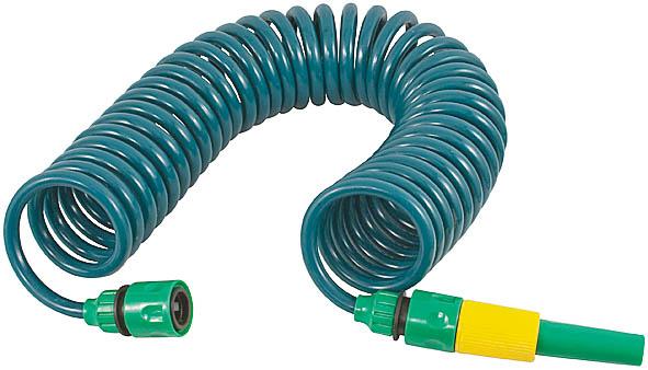 Шланг спиральный для полива FIT, с насадкой, 6 м. 77318 шланг fit 77287