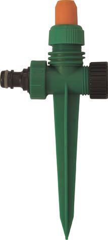 Распылитель пластиковый на пике FIT, цвет: зеленый, черный, оранжевый. 77340 распылитель пластиковый fit 5 режимов 77342