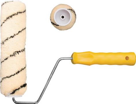 Валик полиакриловый FIT с ручкой, 230 мм х 60 мм валик fit 02609