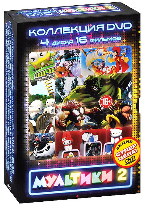 Мультфильмы 2 (4 DVD)