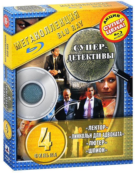 Супер-детективы 2 (4 Blu-ray) супер детективы 2 4 blu ray