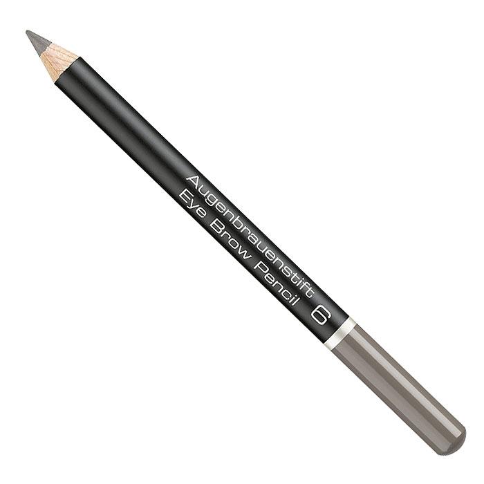 Artdeco Карандаш для бровей Eye Brow Pencil, тон №6, 1,1 г карандаш lebelage auto eye brow soft type black