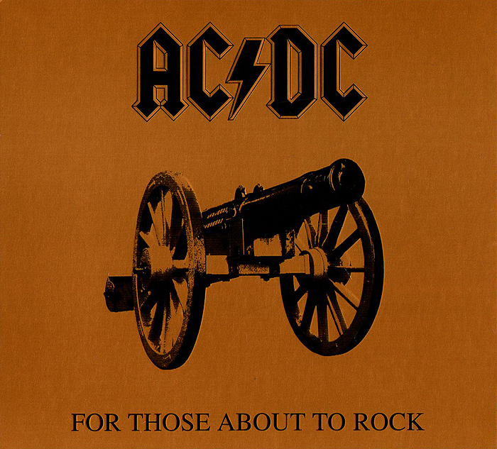 AC/DC AC/DC. For Those About To Rock позитиф кружка ac dc красные буквы let there be rock музыкальный сувенир