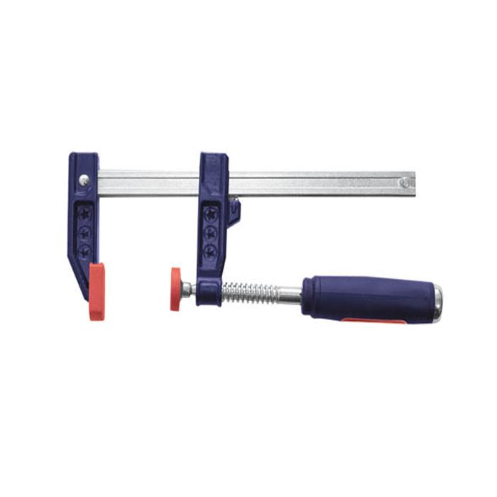 Струбцина F-образная FIT, усиленная, 50 х 300 мм струбцина f образная fit 50х250мм усиленная мягкая ручка