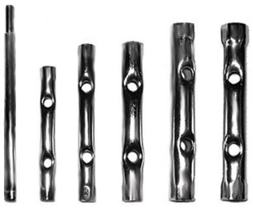 Набор трубчатых ключей FIT, 10 шт набор трубчатых ключей fit 10 шт