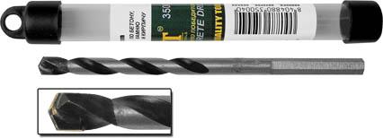 Сверло по бетону FIT, 12 х 150 мм. 3501235012Сверло по бетону FIT с цилиндрическим хвостовиком изготовлено из усиленной инструментальной стали, имеет карбидную вставку. U-образная спираль позволяет отводить сверлильную пыль во время работы. Предназначено для ударно-вращательного сверления по бетону. Характеристики: Материал: сталь. Размер сверла: 15 см x 1,2 см х 1,2 см. Размер упаковки: 17 см х 1,5 см х 1,5 см.