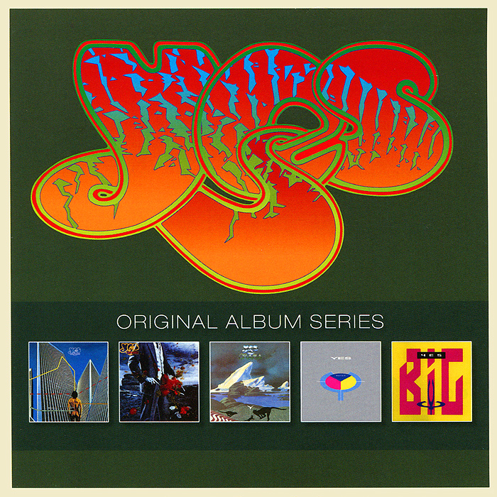 Yes Original Album Series. Yes (5 CD) yes yes tales from topographic ocean 2 cd