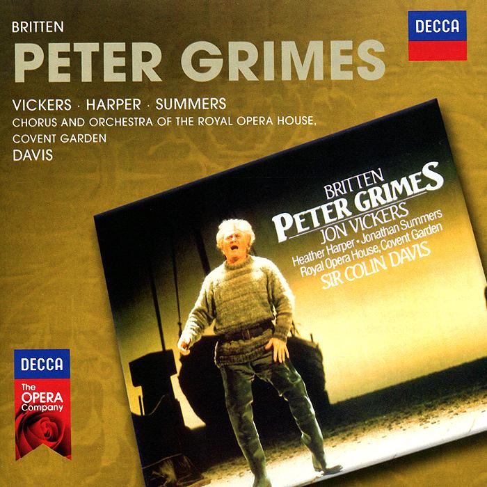 Колин Дэвис,Йон Викерс,Хизер Харпер,Джонатан Саммерс,Chorus And Orchestra Of The Royal Opera House Sir Colin Davis. Britten. Peter Grimes (2 CD) benjamin britten conducts britten 7 cd