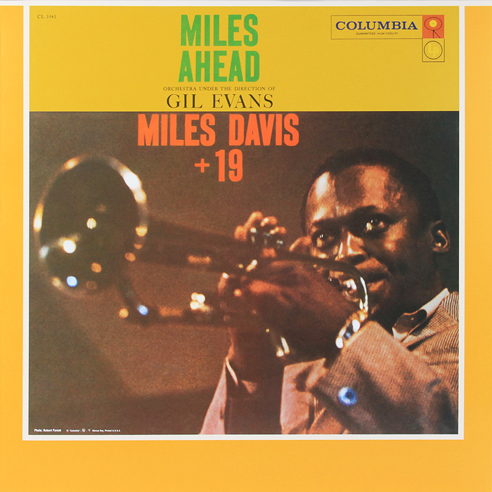 Майлз Дэвис,Orchestra Under The Direction Of Gil Evans Miles Davis. Miles Ahead (LP) miles davis kind of blue lp