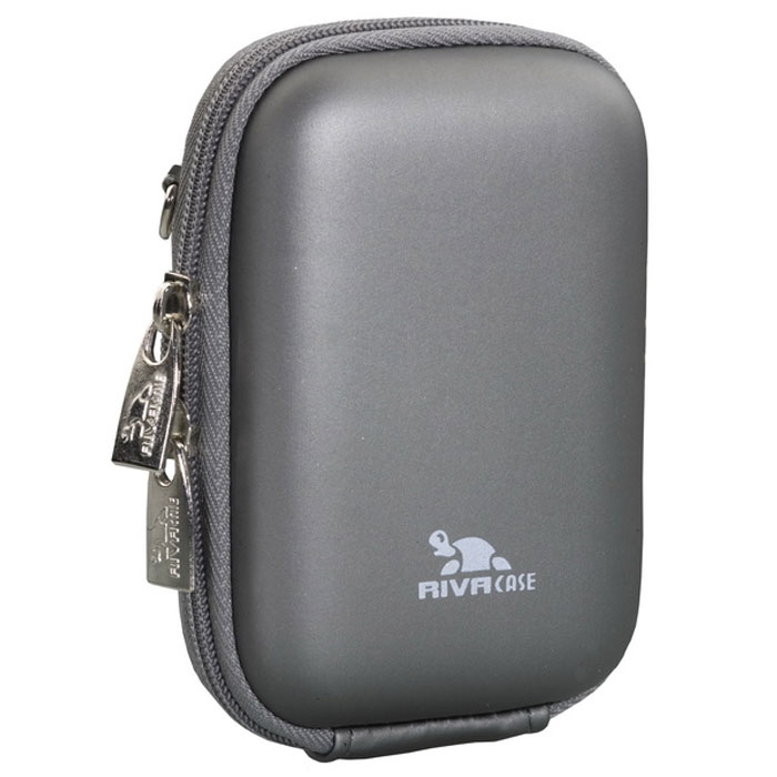 RIVACASE 7022 (PU) Digital Case, Dark Grey чехол для фотокамеры чехол для hdd gps case riva 9101 pu black