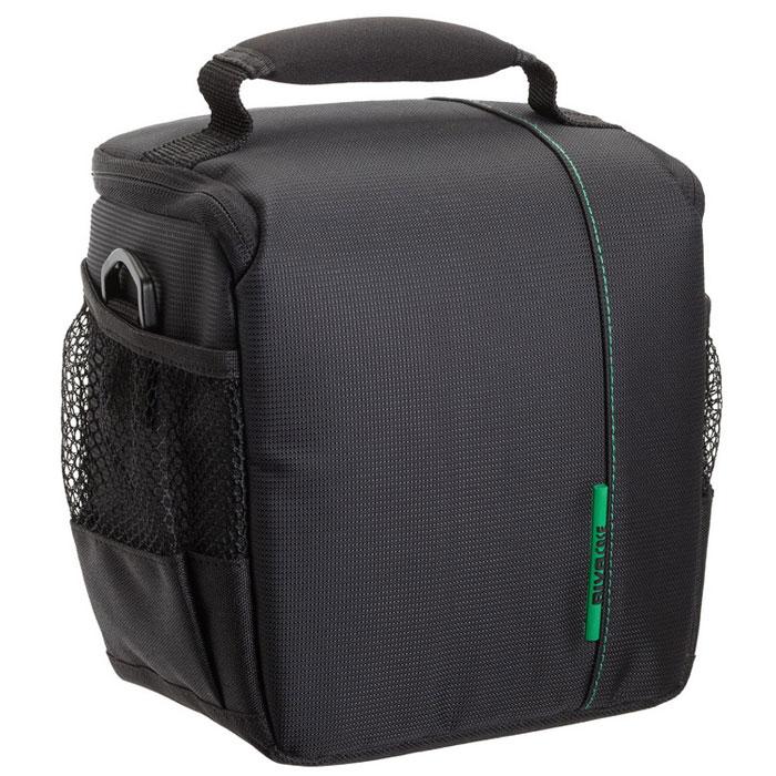 RIVACASE 7420 SLR Case, Black чехол для фотокамеры rivacase 7630 slr case pro black сумка для зеркальной фотокамеры