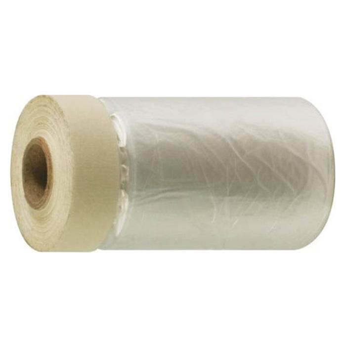 Пленка укрывная FIT с клейкой лентой, 10 мкм, 1,7 м х 15 м бумага наждачная fit 11 5 х 5 м р150