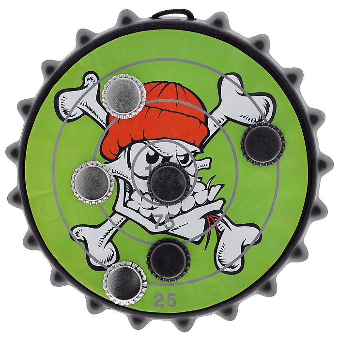 Дартс магнитный Русские Подарки Метание пивных пробок, размер: 25х25 см. 42321 цена