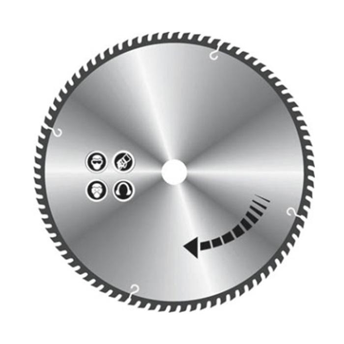 Диск пильный по алюминию FIT, 230 х 30 х 100 T. 37783