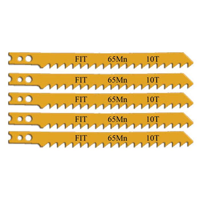 Пилки для электролобзика FIT по дереву, 5 шт цены