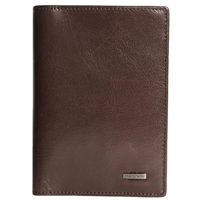 Обложка для паспорта Malgrado, цвет: коричневый. 54019-5402D обложка для паспорта malgrado цвет красный 54019 1 44