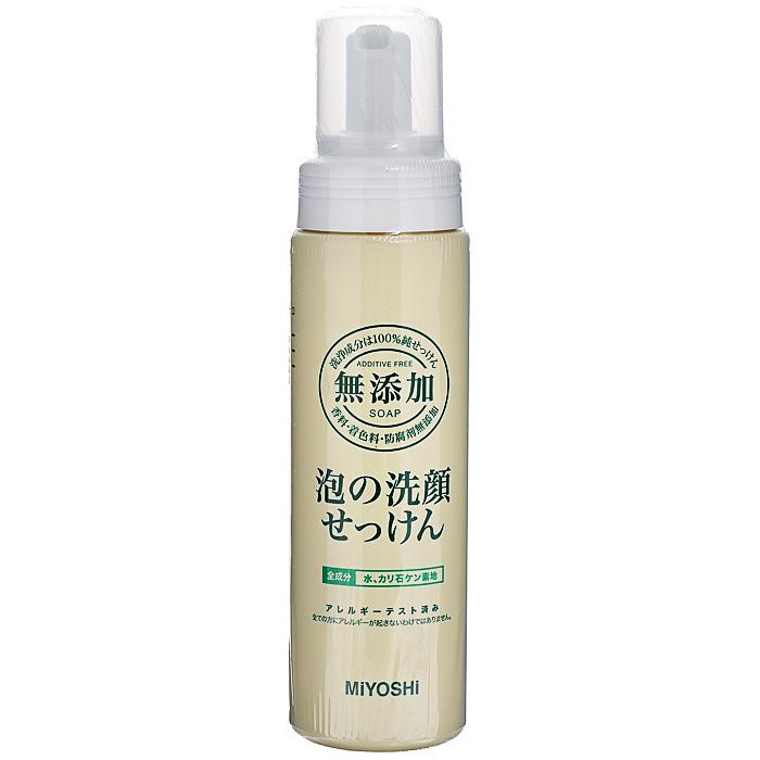 Пенка для умывания MIYOSHI / Пенящееся средство для умывания, на основе натуральных компонентов, 200 мл, арт. 120019 мази от розацеа