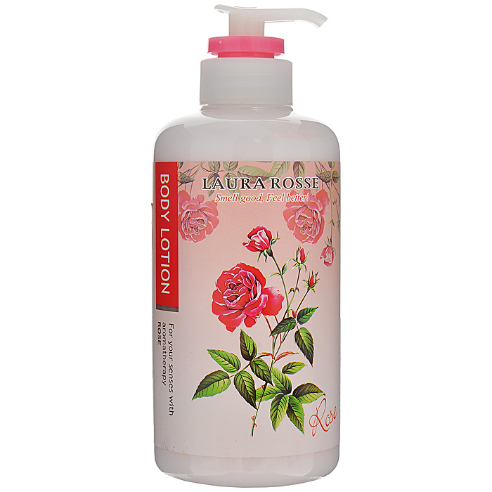 Фото - Laura Rosse Лосьон-молочко для тела Ароматерапия. Роза, 500 мл жидкое мыло laura rosse для тела ароматерапия роза 500 мл арт 298449
