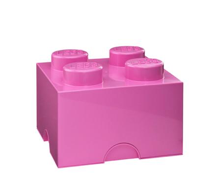 4003 ящик розовый для хранения игрушек 4 LEGO