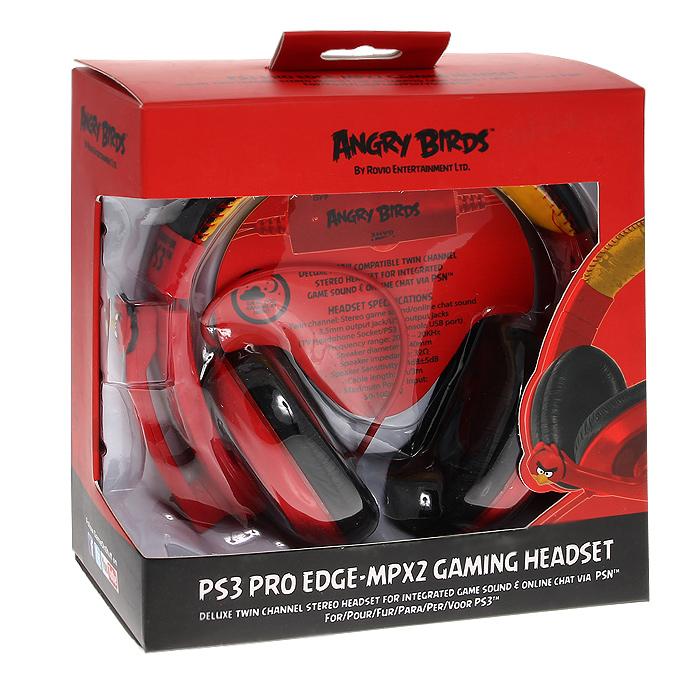 Игровая гарнитура Angry Birds PS3 Pro EDGE-MPX2