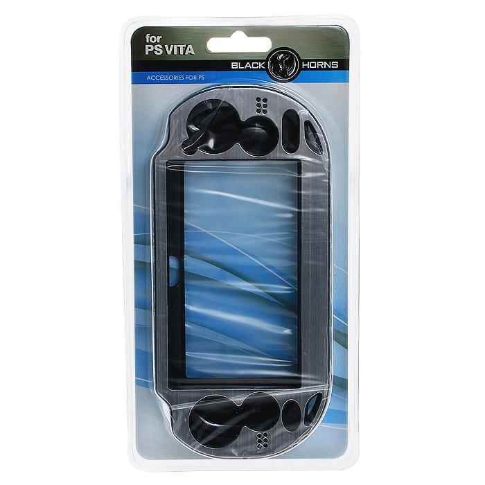 Защитный металлический чехол Black Horns для PS Vita (серебро) разветвитель usb black horns для ps4