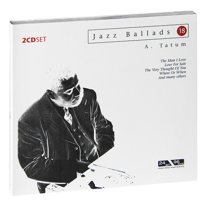 Арт Тэйтум Jazz Ballads. Art Tatum (2 CD) виниловая пластинка art tatum ben webster art tatumfrom gene norman's just jazz