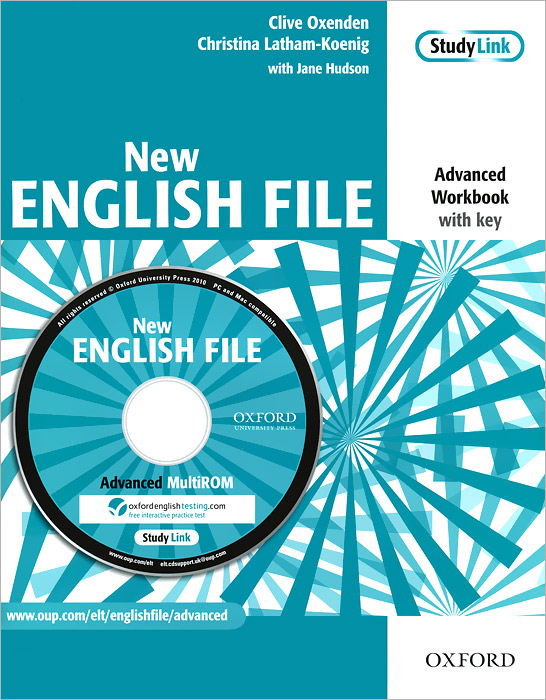 New English File: Workbook: With Key (+ CD-ROM) total english workbook with key cd rom