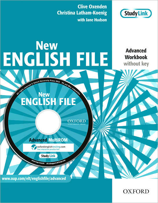 New English File: Advanced Workbook: Without Key (+ CD-ROM) new inside out advanced workbook cd rom
