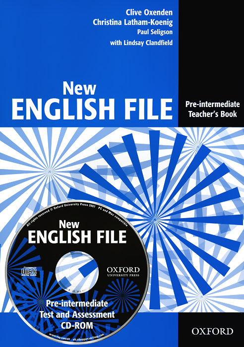 New English File: Pre-Intermediate: Teacher's Book (+ CD-ROM) english for logistics cd rom