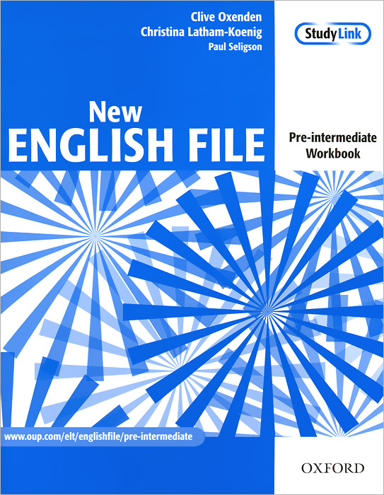 Фото - New English File: Pre-Intermediate: Workbook (+ CD-ROM) outcomes upper intermediate workbook cd
