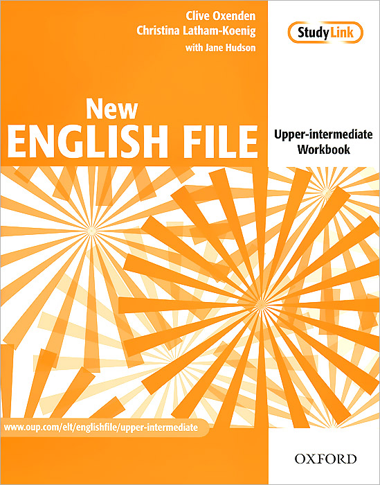 New English File: Upper-Intermediate: Workbook with Key Booklet (+ CD-ROM) oxford phonics world 2 student book 2 cd rom