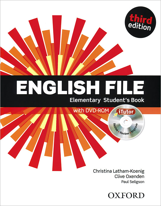 English File: Elementary: Student's Book (+ DVD-ROM) american english file