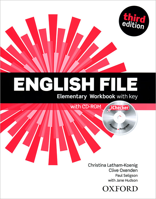 English File: Elementary: Workbook with Key (+ CD-ROM) american english file