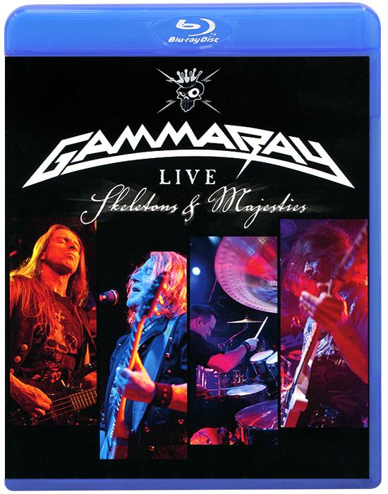 Gamma Ray: Skeletons & Majesties, Live (Blu-ray) цена