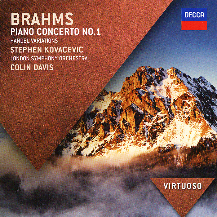 Колин Дэвис,Стефен Ковасевич,The London Symphony Orchestra Colin Davis. Brahms. Piano Concerto No.1 krystian zimerman brahms piano concerto no 1