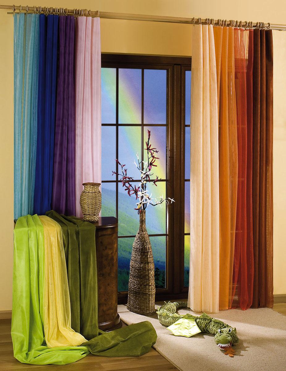 Гардина-тюль Wisan, на ленте, цвет: кремовый, высота 250 см729012Воздушная гардина-тюль Wisan, изготовленная из полиэстера кремового цвета, станет великолепным украшением любого окна. Тонкое плетение, оригинальный дизайн и приятная цветовая гамма привлекут к себе внимание и органично впишутся в интерьер комнаты. В гардину-тюль вшита шторная лента. Фирма Wisan на польском рынке существует уже более пятидесяти лет и является одной из лучших польских фабрик по производству штор и тканей. Ассортимент фирмы представлен готовыми комплектами штор для гостиной, детской, кухни, а также текстилем для кухни (скатерти, салфетки, дорожки, кухонные занавески). Модельный ряд отличает оригинальный дизайн, высокое качество. Ассортимент продукции постоянно пополняется. Характеристики: Материал: 100% полиэстер. Цвет: кремовый. Размер упаковки: 26 см х 1 см х 35 см. Артикул: 729012. В комплект входит: Гардина-тюль - 1 шт. Размер (ШхВ): 150 см х 250 см. УВАЖАЕМЫЕ КЛИЕНТЫ! Обращаем ваше внимание на цвет изделия. Цветовой вариант комплекта, данного в интерьере, служит для визуального восприятия товара. Цветовая гамма данного комплекта представлена на отдельном изображении фрагментом ткани.