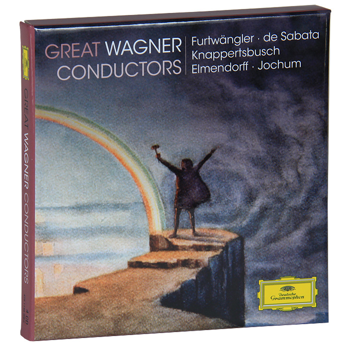 Munchner Philharmoniker,Ханс Кнаппертсбуш,Berliner Philharmoniker,Вильгельм Фуртвенглер Wagner. Conductors (4 CD) вильгельм фуртвенглер николай голованов вильгельм фуртвенглер xx s century greatest conductors
