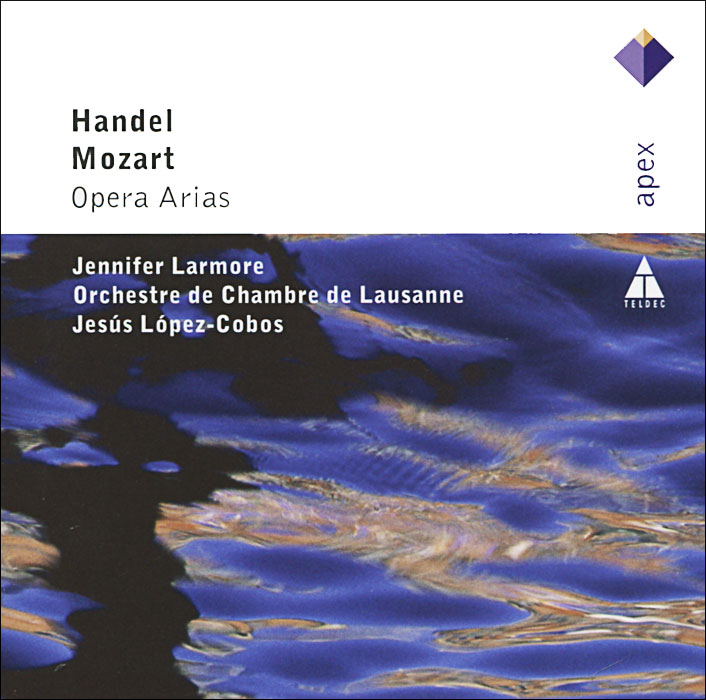 Дженнифер Лармо,Orchestra De Chambre De Lausanne,Иесус Лопез-Кобос Handel / Mozart. Opera Arias миа перссон miah persson mozart opera and concert arias sacd