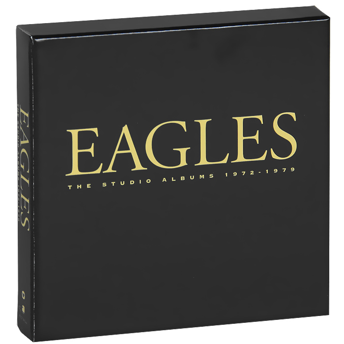 The Eagles Eagles. The Studio Albums 1972-1979. Limited Edition Boxset (6 CD) cody benjamin the eagles notebook