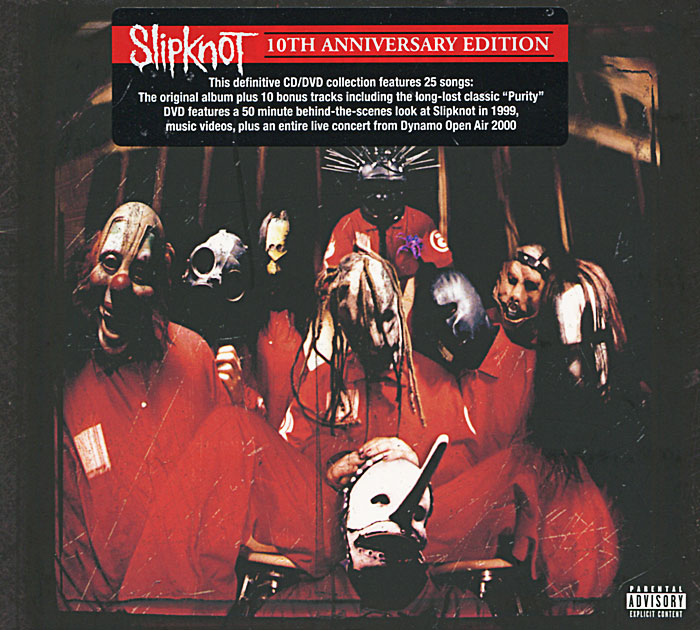 Slipknot Slipknot. 10th Anniversary Edition (CD + DVD) цена