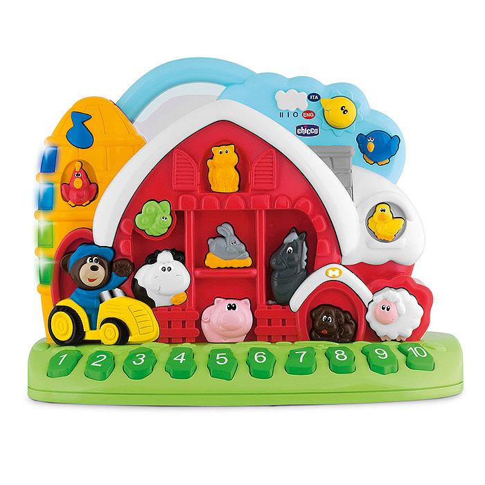 Chicco Развивающая игрушка Говорящая ферма