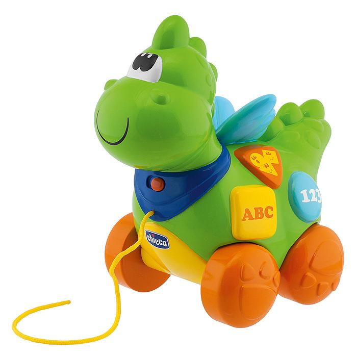 Chicco Игрушка-каталка развивающая Говорящий дракон чикко игрушка развивающая говорящий дракон