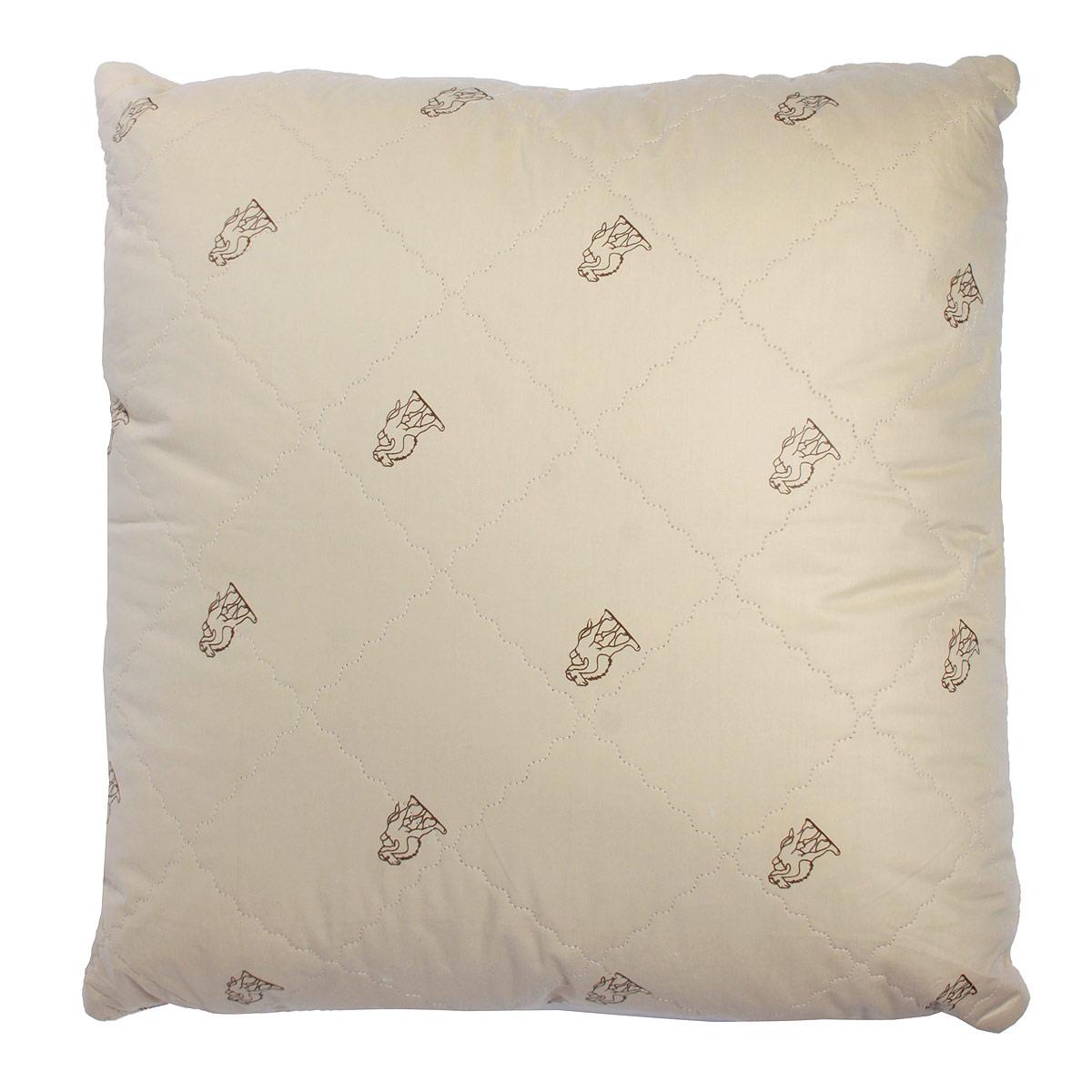 Подушка Verossa, наполнитель: верблюжья шерсть, 70 х 70 см подушки sova and javoronok подушка 70 70 верблюжья шерсть