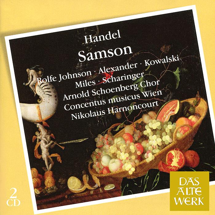 Nikolaus Harnoncourt, Concentus Musicus Wien. Handel. Samson (2 CD)