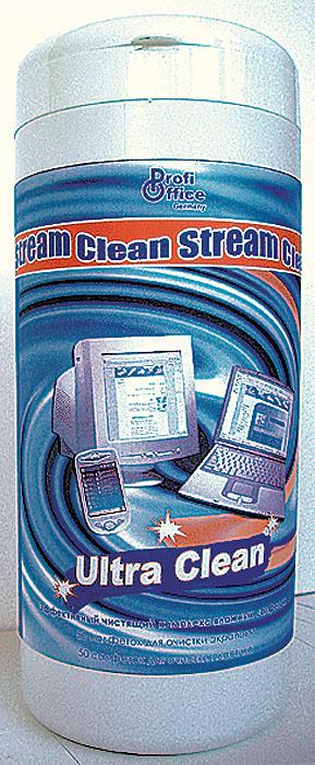 Влажные чистящие салфетки ProfiOffice