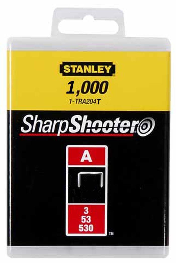 Скобы для степлера Stanley, тип
