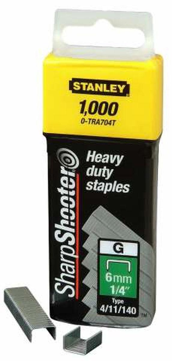 цена на Скобы для степлера Stanley, тип G (4/11/140), 12 мм, 1000 шт