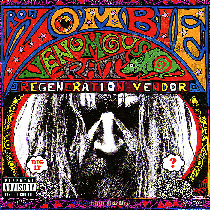 купить Роб Зомби Rob Zombie. Venomous Rat Regeneration Vendor онлайн