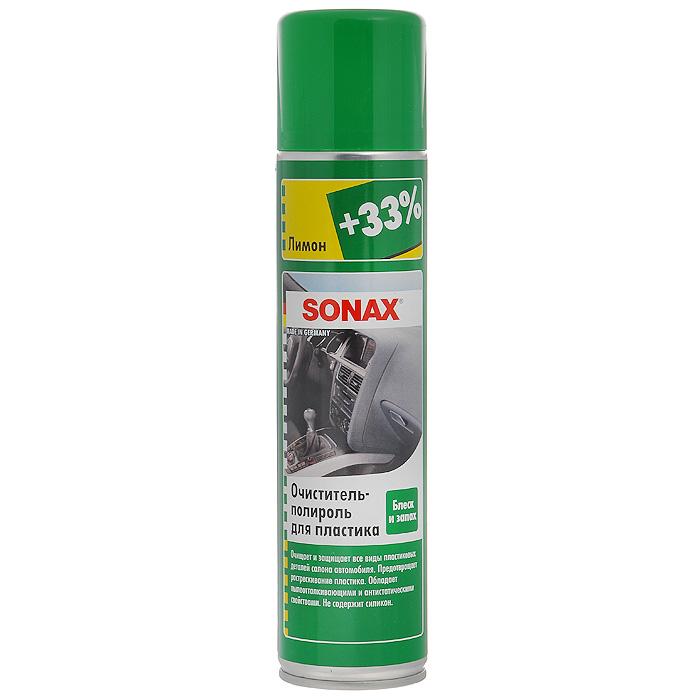цена на Очиститель-полироль Sonax, для пластика, с ароматом лимона, 400 мл