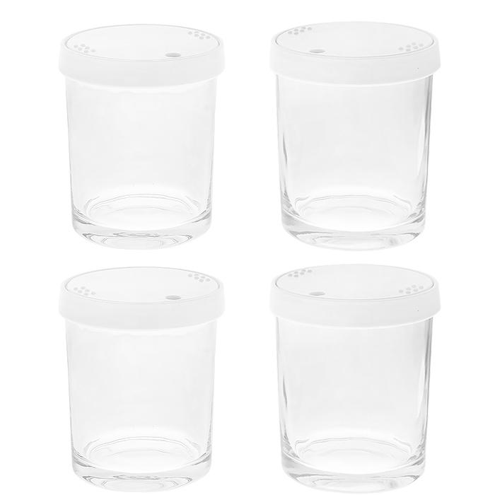 Brandстеклянные стаканчики к йогуртнице 4011, 4 шт Brand